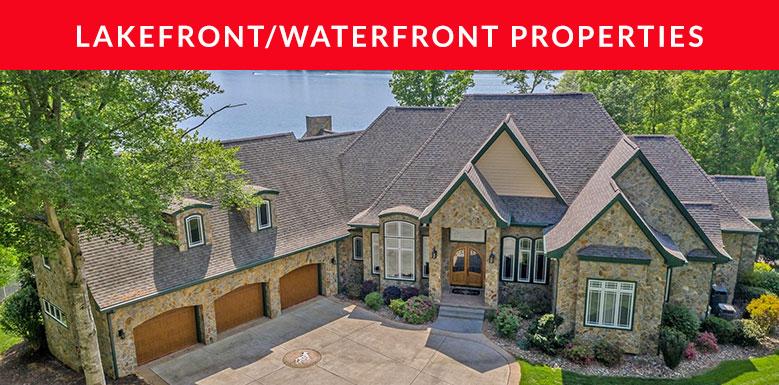 Lakefront/Waterfront Properties